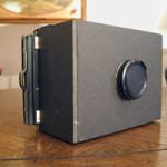 4x5 Pinhole camera